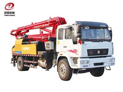 Small Concrete Pump Truck